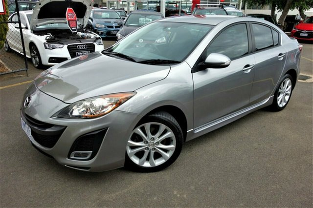 Used Mazda 3 BL10L1 MY10 SP25, 2010 Mazda 3 BL10L1 MY10 SP25 Silver 6 Speed Manual Sedan