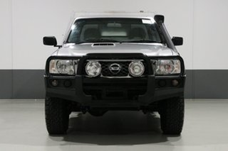2014 Nissan Patrol MY14 ST (4x4) Silver 5 Speed Manual Coil Cab Chassis.