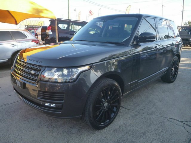 Used Land Rover Range Rover LG MY15.5 Vogue SE SDV8, 2015 Land Rover Range Rover LG MY15.5 Vogue SE SDV8 Grey 8 Speed Automatic Wagon