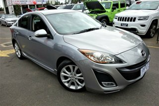 2010 Mazda 3 BL10L1 MY10 SP25 Silver 6 Speed Manual Sedan.