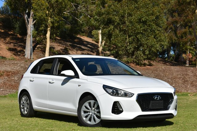 Used Hyundai i30 PD MY18 Go, 2018 Hyundai i30 PD MY18 Go White 6 Speed Sports Automatic Hatchback