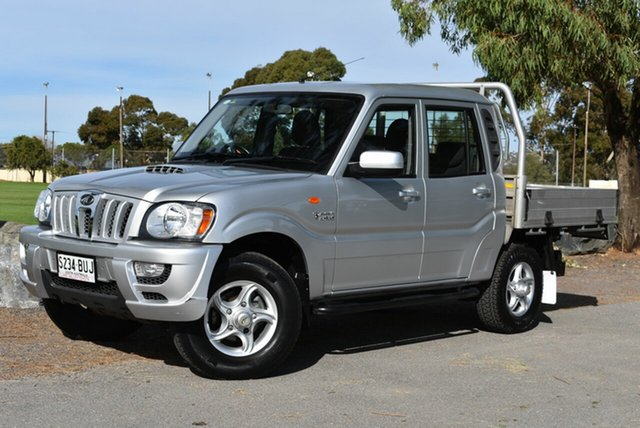 Used Mahindra Pik-Up S5 MY16 , 2016 Mahindra Pik-Up S5 MY16 Silver 5 Speed Manual Cab Chassis
