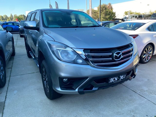 Demo Mazda BT-50 UR0YG1 XTR, 2019 Mazda BT-50 BT-50 XTR Aluminium 6 Speed Manual Crewcab