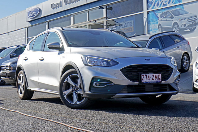 Used Ford Focus SA 2019.25MY Active, 2019 Ford Focus SA 2019.25MY Active Silver 8 Speed Automatic Hatchback