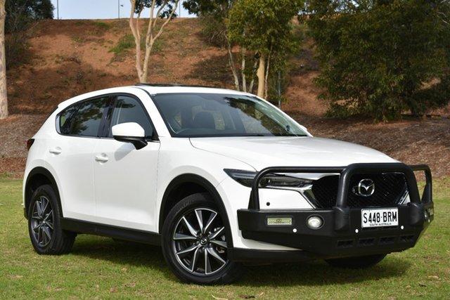 Used Mazda CX-5 KF4WLA GT SKYACTIV-Drive i-ACTIV AWD, 2017 Mazda CX-5 KF4WLA GT SKYACTIV-Drive i-ACTIV AWD White 6 Speed Sports Automatic Wagon