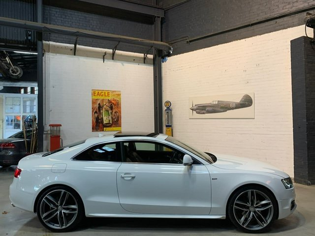 Used Audi A5 8T MY10 Quattro, 2009 Audi A5 8T MY10 Quattro White 6 Speed Sports Automatic Coupe