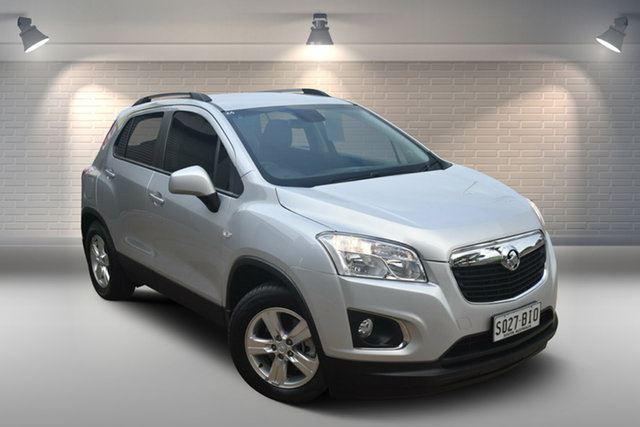 Used Holden Trax TJ MY16 LS, 2015 Holden Trax TJ MY16 LS Silver 6 Speed Automatic Wagon