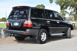 2004 Toyota Landcruiser HDJ100R GXL Black 5 Speed Automatic Wagon