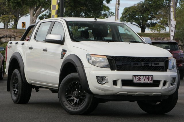 Used Ford Ranger PX XLS Double Cab, 2015 Ford Ranger PX XLS Double Cab White 6 Speed Sports Automatic Utility