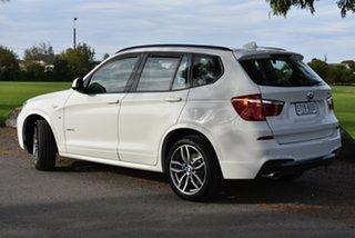 2017 BMW X3 F25 LCI xDrive20i Steptronic White 8 Speed Automatic Wagon.