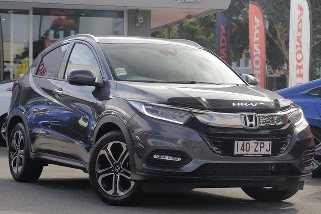 Demo Honda HR-V MY20 VTi-LX, 2020 Honda HR-V MY20 VTi-LX Modern Steel 1 Speed Constant Variable Hatchback