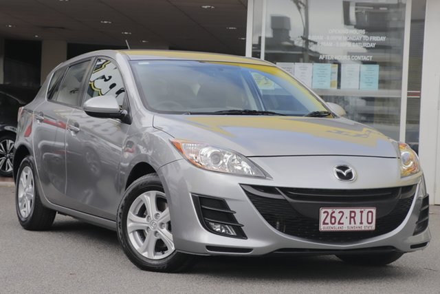 Used Mazda 3 BL10F1 Maxx Activematic, 2010 Mazda 3 BL10F1 Maxx Activematic Silver 5 Speed Sports Automatic Hatchback