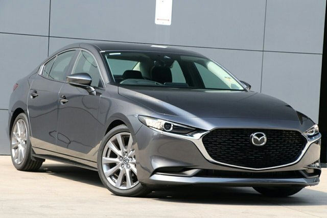 New Mazda 3 BP2S7A G20 SKYACTIV-Drive Evolve, 2020 Mazda 3 BP2S7A G20 SKYACTIV-Drive Evolve Machine Grey 6 Speed Sports Automatic Sedan