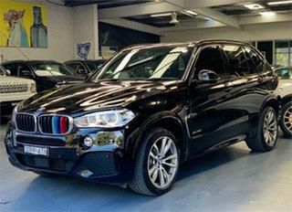 2017 BMW X5 F15 xDrive30d Black Sports Automatic Wagon