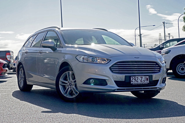 Used Ford Mondeo MD 2018.75MY Ambiente, 2018 Ford Mondeo MD 2018.75MY Ambiente Silver 6 Speed Automatic Wagon