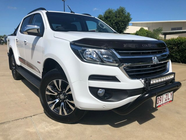 Used Holden Colorado RG MY20 Storm Pickup Crew Cab, 2019 Holden Colorado RG MY20 Storm Pickup Crew Cab White 6 Speed Sports Automatic Utility