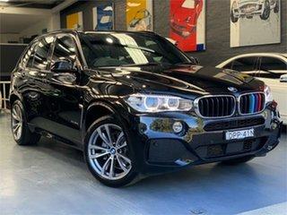 2017 BMW X5 F15 xDrive30d Black Sports Automatic Wagon.