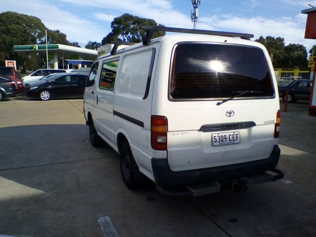 Used Toyota HiAce RZH103R SWB, 2002 Toyota HiAce RZH103R SWB White 5 Speed Manual Van