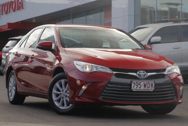 Used Toyota Camry AVV50R Altise, 2015 Toyota Camry AVV50R Altise Wildfire 1 Speed Constant Variable Sedan Hybrid