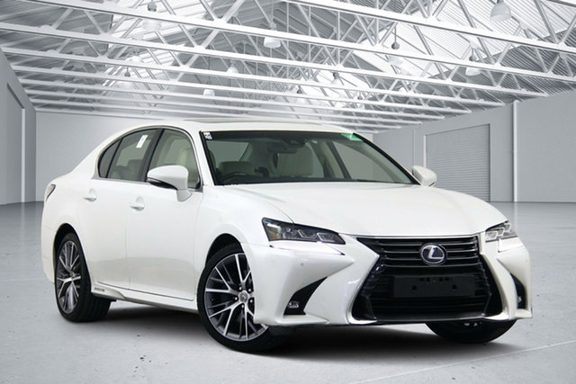 Used Lexus GS450H GWL10R MY17 Hybrid Sports Luxury, 2017 Lexus GS450H GWL10R MY17 Hybrid Sports Luxury White 6 Speed CVT Auto Sequential Sedan