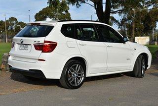 2017 BMW X3 F25 LCI xDrive20i Steptronic White 8 Speed Automatic Wagon
