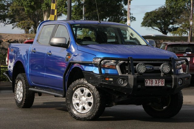 Used Ford Ranger PX MkII XLS Double Cab, 2017 Ford Ranger PX MkII XLS Double Cab Blue 6 Speed Sports Automatic Utility