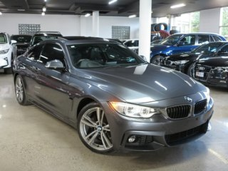 2013 BMW 4 Series F32 420d M Sport Grey 8 Speed Sports Automatic Coupe.