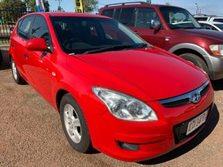 2008 Hyundai i30 FD MY09 SX Red 5 Speed Manual Hatchback