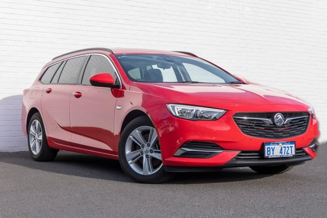 Used Holden Commodore ZB MY18 LT Sportwagon, 2018 Holden Commodore ZB MY18 LT Sportwagon Red 9 Speed Sports Automatic Wagon