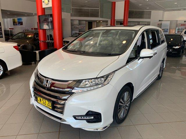 Used Honda Odyssey RC MY18 VTi-L, 2018 Honda Odyssey RC MY18 VTi-L White 7 Speed Constant Variable Wagon