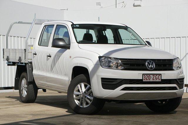 Demo Volkswagen Amarok 2H MY19 TDI420 4MOTION Perm Core, 2019 Volkswagen Amarok 2H MY19 TDI420 4MOTION Perm Core Candy White 8 Speed Automatic Utility