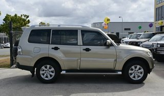 2009 Mitsubishi Pajero NS Platinum Edition Gold 5 Speed Automatic Wagon