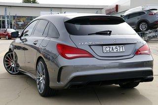2015 Mercedes-Benz CLA-Class X117 CLA45 AMG Shooting Brake SPEEDSHIFT DCT 4MATIC Grey 7 Speed.