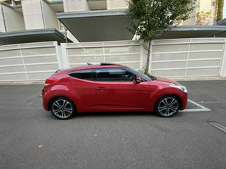 2015 Hyundai Veloster FS4 Series II + Coupe Red 6 Speed Manual Hatchback