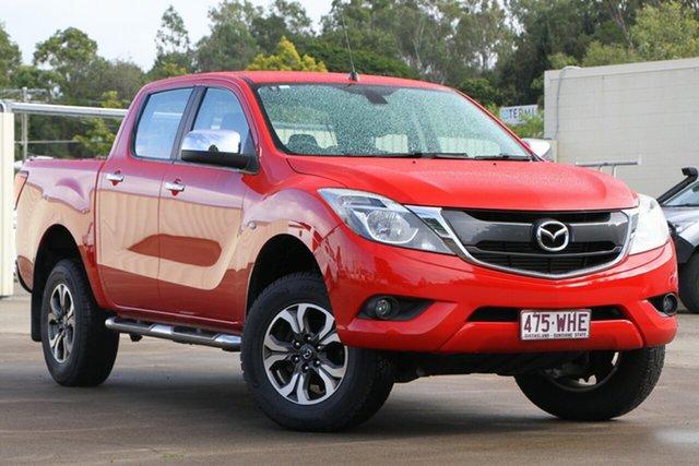 Used Mazda BT-50 UR0YF1 XTR, 2016 Mazda BT-50 UR0YF1 XTR Red 6 Speed Manual Utility