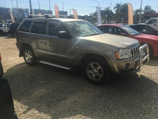 2006 Jeep Grand Cherokee WH Limited (4x4) Gold 5 Speed Automatic Wagon