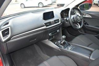 2018 Mazda 3 BN5436 SP25 SKYACTIV-MT Red/Black 6 Speed Manual Hatchback