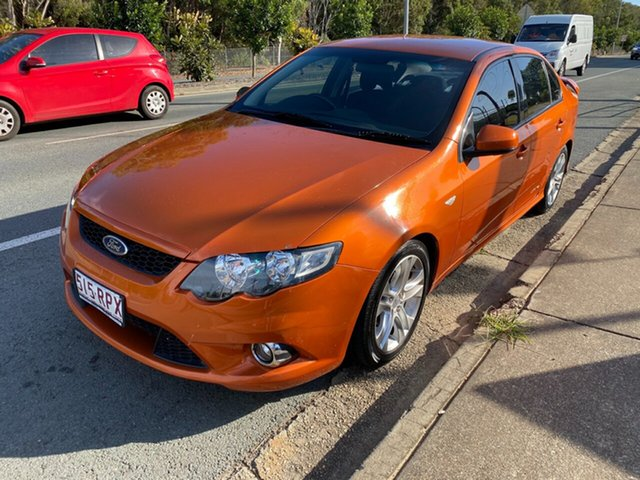 Used Ford Falcon FG MkII XR6, 2011 Ford Falcon FG MkII XR6 Orange 6 Speed Manual Sedan