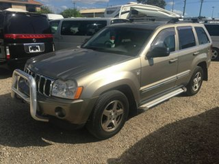 2006 Jeep Grand Cherokee WH Limited (4x4) Gold 5 Speed Automatic Wagon.