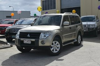 2009 Mitsubishi Pajero NS Platinum Edition Gold 5 Speed Automatic Wagon.
