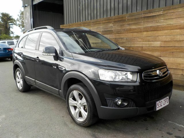 Used Holden Captiva CG Series II 7 AWD CX, 2011 Holden Captiva CG Series II 7 AWD CX Black 6 Speed Sports Automatic Wagon