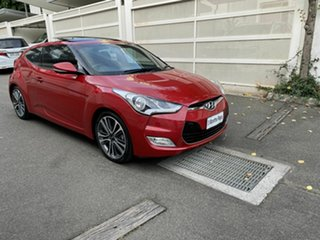 2015 Hyundai Veloster FS4 Series II + Coupe Red 6 Speed Manual Hatchback.