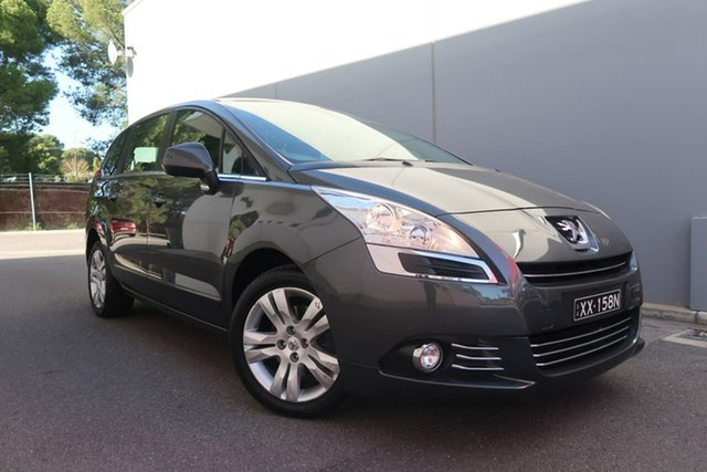 Used Peugeot 5008 MY13 Active, 2013 Peugeot 5008 MY13 Active Grey 6 Speed Automatic Wagon