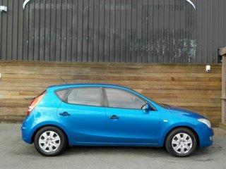 2010 Hyundai i30 FD MY11 SX Blue 4 Speed Automatic Hatchback.