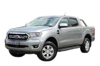 2019 Ford Ranger PX MkIII 2019.75MY XLT Pick-up Double Cab Silver 10 Speed Sports Automatic Utility