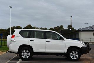 2011 Toyota Landcruiser Prado KDJ150R GX White 5 Speed Sports Automatic Wagon.