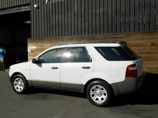 2005 Ford Territory SX TX White 4 Speed Sports Automatic Wagon