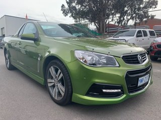 2015 Holden Ute VF MY15 SV6 Green 6 Speed Manual Utility - Extended Cab