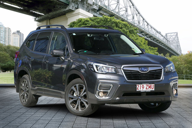 Demo Subaru Forester S5 MY20 2.5i Premium CVT AWD, 2019 Subaru Forester S5 MY20 2.5i Premium CVT AWD Magnetite Grey 7 Speed Constant Variable Wagon