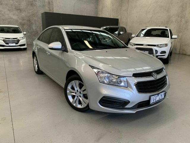 Used Holden Cruze JH Series II MY15 Equipe, 2015 Holden Cruze JH Series II MY15 Equipe Silver 6 Speed Sports Automatic Hatchback
